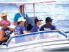 Vaka Eiva 2009 support Boat Close Up