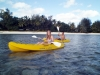 Single kayaks on Rarotonga, Adventure Cook Islands