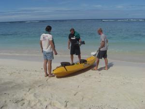 Kayak Rarotonga