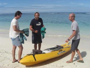 Kayak rental in Rarotonga, Cook Islands