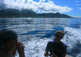 Rarotonga's south coast