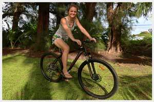 Mountain bikes for hire in Rarotonga, cook Islands