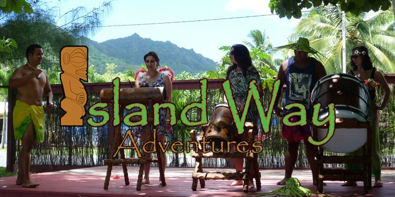 Dance and drum lessons and mountain treks in Rarotonga, Cook Islands