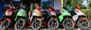 Scooter for rent in Rarotonga, Cook islands