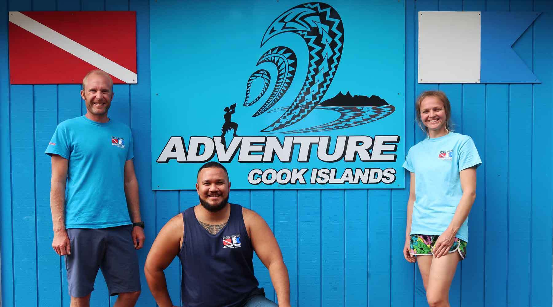 Adventure Cook Islands Team